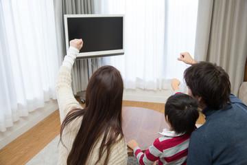 テレビで応援