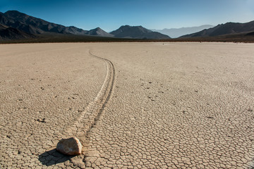 Racetrack playa at Death Valley National Park.