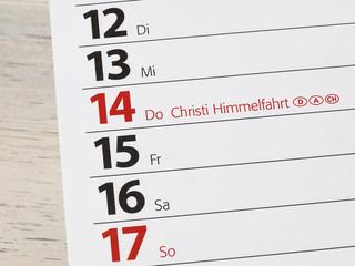 Vatertag - Christi Himmelfahrt - Männertag - Herrentag - Brück