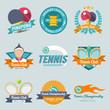 Tennis Label Set - 74707037