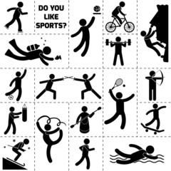 Sport Icon Black
