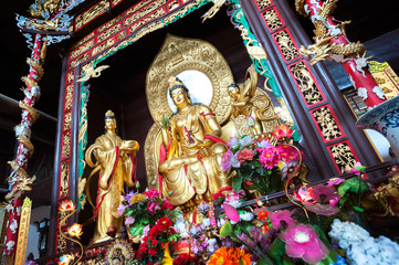 Statue of Guanyin at Lushan Temple, Changsha, China