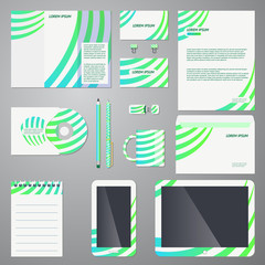 Brand identity company style template