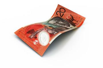 20 Australian Dollars