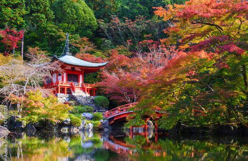 Daigoji Temple in Autumn, Kyoto, Japan - 74709812