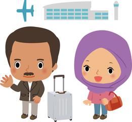 ムスリムの旅行者