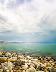 the Sea of Galilee landscape