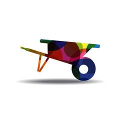 Trolly Colorful Vector Icon Design