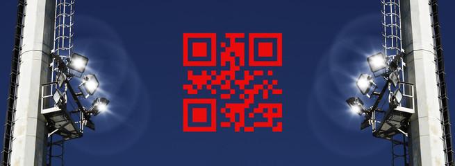 Happy New Year QR code