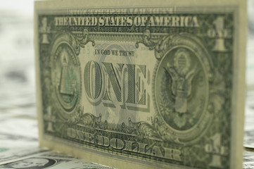The back of the one dollar bill