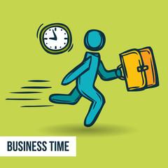 Time management business sketch