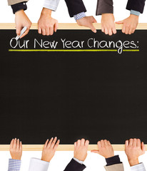 New Year Changes