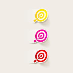 realistic design element: target
