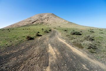 Lanzarote - Aufstieg zur Montana Blanca
