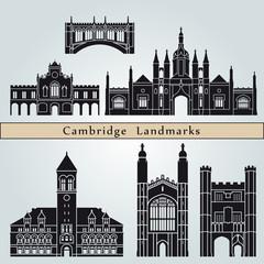 Cambridge landmarks and monuments