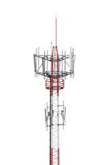 Telecommunication Radio Antenna Tower