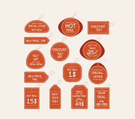 price tag elements
