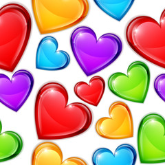 Heart Candies Pattern