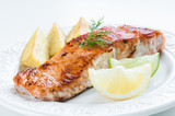 Salmon with Potatoes and Dill