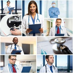 Medical people at work