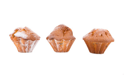 Muffins Isolated