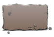 Stone slab banner - 74717089