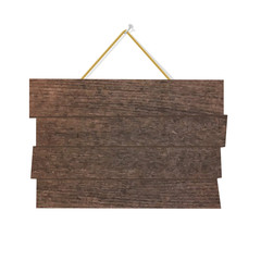 Wood Sign Board