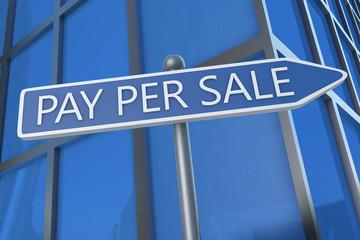 Pay per Sale
