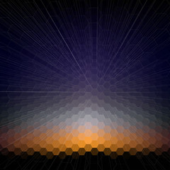 Abstract blurred background, abstract template vector