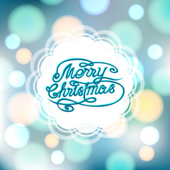 Magical festive background with bright lights and ornate
