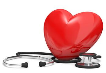 stetoscopio con cuore 2