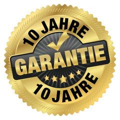 Garantie 10 Jahre
