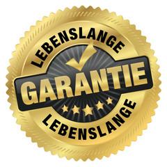 Lebenslange Garantie