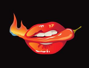 Hot as pepper