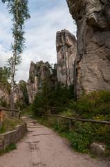 Prachovsky Skaly trail