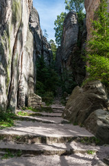 Prachov Rocks trail