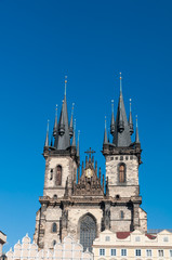 Church of Our Lady before Týn towers