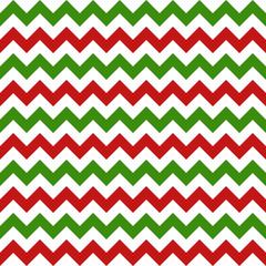 christmas chevron seamless pattern