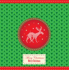 Northern Christmas deer 5