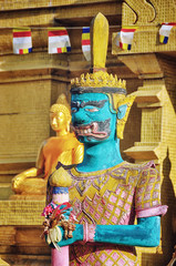 Sculpture at Laem Sor Pagoda in Ko Samui, Thailand