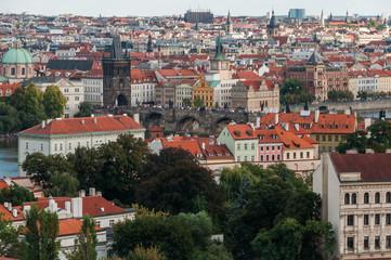 Charles Bridge view from Prague Castle