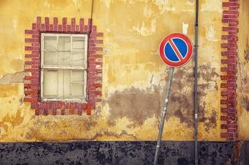 Streets of old town Faro in Algarve