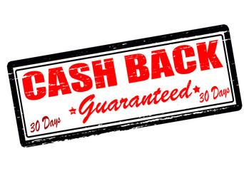 Cash back guaranteed