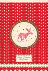 Northern Christmas deer 8