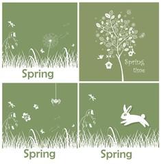 Spring applique
