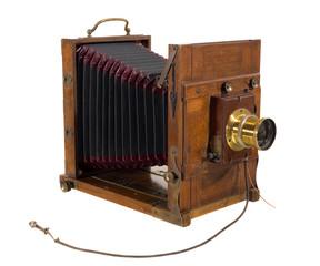 alter antiker fotoapparet