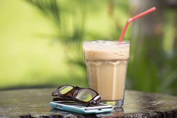 Thai ice coffee