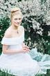 Obrazy na płótnie, fototapety, zdjęcia, fotoobrazy drukowane : Beautiful girl in the forest