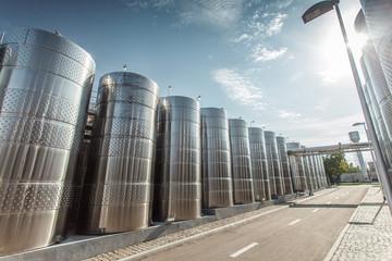 modern capacity wineries