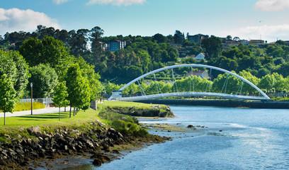Lerez River in Pontevedra (Spain)